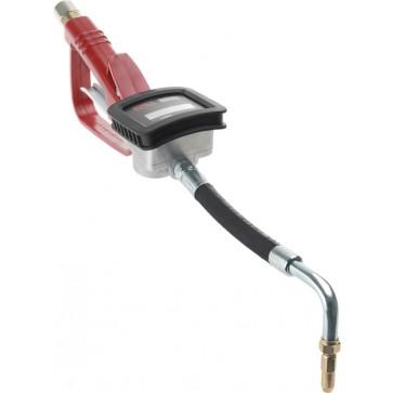 Ročka za olje z digitalnim merilcem, 0-30 l / min-NEF, izpust 90 ° z vrtljivim spojem [19 698]