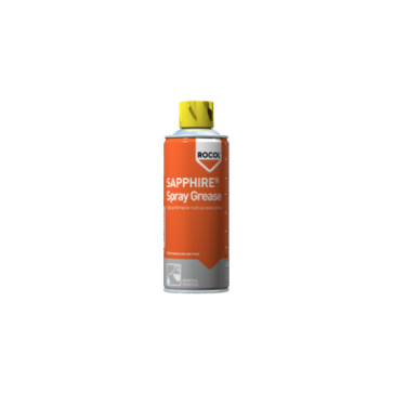 ROCOL SAPPHIRE® SPRAY GREASE, 400ml - Visoko zmogljiva sintetična mast z dodatkom PTFE