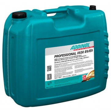 ADDINOL PROFESSIONAL 0530 E6/E9, 20L - Motorno olje za tovorna vozila
