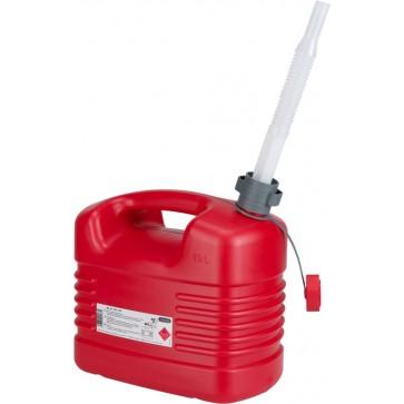 Rezervoar za gorivo 10L, PE s prilagodljivim izlivom [21 133]
