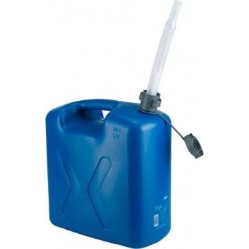 Univerzalna pločevinka, 20 l-ECO modra, PE - s prilagodljivim izlivom [21 147]