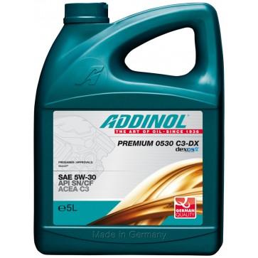 ADDINOL PREMIUM 0530 C3-DX, 5L - Motorno olje za osebna vozila
