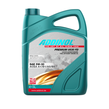 ADDINOL PREMIUM 0530 FD, 5L - Motorno olje za osebna vozila