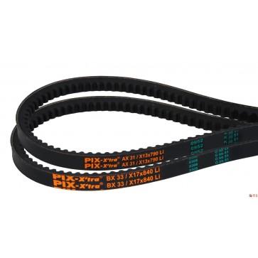 BX 106,0 17 X 2700 LI X'TRA-XR - Klinasti jermen, rezani