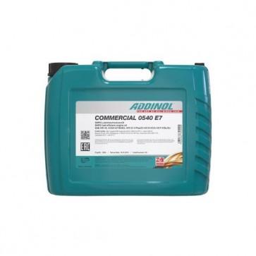 ADDINOL COMMERCIAL 0540 E7, 20L - Motorno olje za tovorna vozila