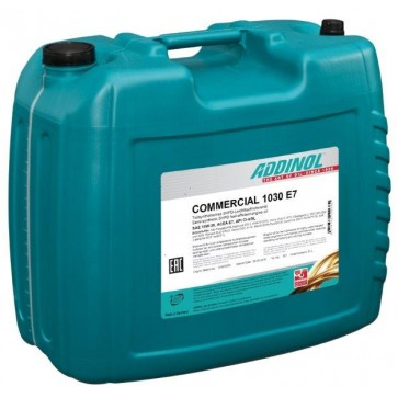 ADDINOL COMMERCIAL 1030 E7, 20L - Motorno olje za tovorna vozila