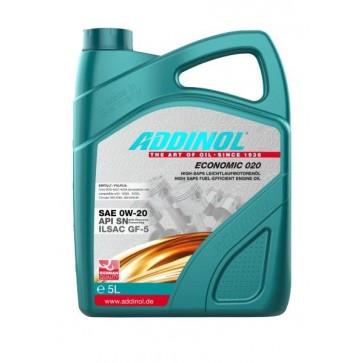 ADDINOL ECONOMIC 020, 5L - Motorno olje za osebna vozila