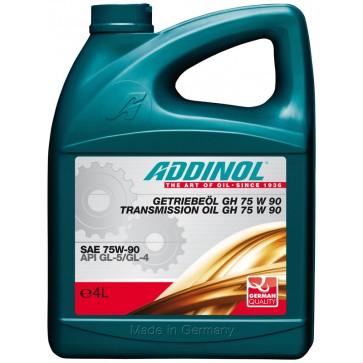 ADDINOL TRANSMISSION OIL GH 75 W 90, 4L - Olje za menjalnike in diferenciale