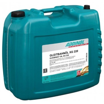 ADDINOL GUIDEWAY OIL XG 220, 20L - Olje za drsne steze in vodila