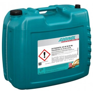 ADDINOL TRANSMISSION OIL GX 80 W 90 ML, 20L - Olje za menjalnike in diferenciale