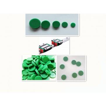 C4A pokrovček - plastičen, zelen - Pokrovček za vodila MGWR12-15