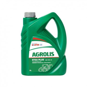 LOTOS AGROLIS STOU PLUS SAE 10W-30, 5L - Univerzalno olje za traktorje