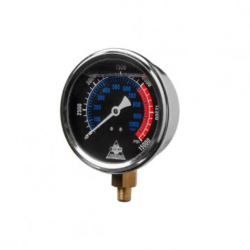 Manometer M0040 (glicerinski, 100mm) [7299221]