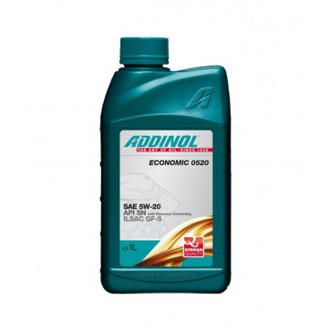 ADDINOL ECONOMIC 0520, 1L - Motorno olje za osebna vozila