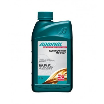 ADDINOL SUPER POWER MV 0537, 1L - Motorno olje za osebna vozila