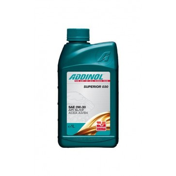ADDINOL SUPERIOR 030, 1L - Motorno olje za osebna vozila