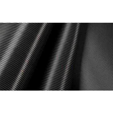 GT avtotekač ozka rebra 3mm x 1200mm, črna - Profilirana tehnična guma