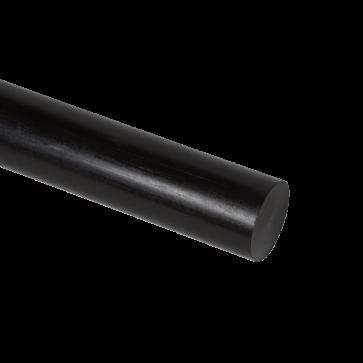 PE-HD; fi 80x1000mm; palica; črna - Tehnična plastika