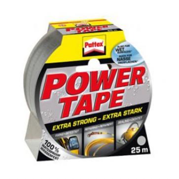 HENKEL PATTEX Power tape, srebrno siv, 25m - 1677377 - Lepilni trak