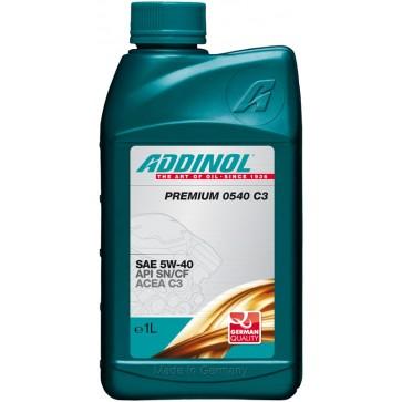 ADDINOL PREMIUM 0540 C3, 1L - Motorno olje za osebna vozila