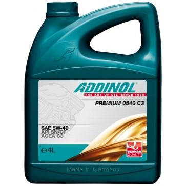 ADDINOL PREMIUM 0540 C3, 4L - Motorno olje za osebna vozila