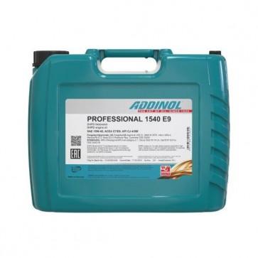 ADDINOL PROFESSIONAL 1540 E9, 20L - Motorno olje za tovorna vozila