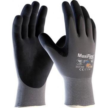 Rokavica MaxiFlex Ultimate 42-874, velikost 10 - Nylon/NBR rokavica sive/črne barve
