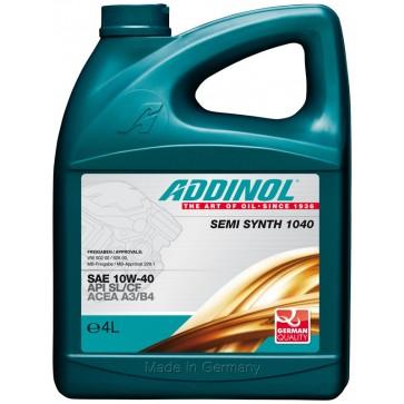 ADDINOL SEMI SYNTH 1040, 4L - Motorno olje za osebna vozila