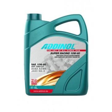 ADDINOL SUPER RACING 10W-60, 4L - Motorno olje za osebna vozila
