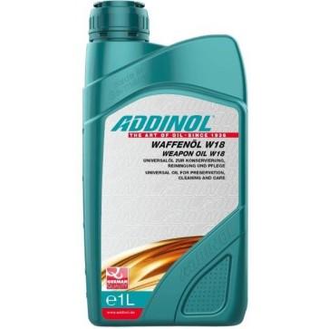 ADDINOL WEAPON OIL W 18, 1L - Olje za vzdrževanje orožja