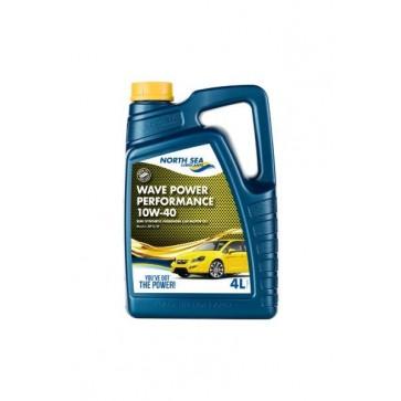 NSL WAVE POWER PERFORMANCE 10W-40, 4L - Motorno olje za osebna vozila