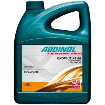 ADDINOL CHAINSAW OIL ECOPLUS XS 68, 5L - Biorazgradljivo olje za verige motornih žag