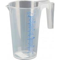 Merilni vrč-PP-0,25 l, prozorna lestvica ml /% [07 060]