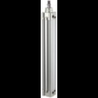 Cilinder z dvojnim delovanjem »SE«, bat FI 50, hod 600, G 1/4 [10.DMD.50600] - Pnevmatski cilinder
