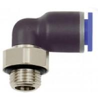 Priključek L »modra serija«, vrtljiva, G 1/8 zunaj, Φ 8 mm [125.018-8]
