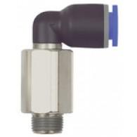 Priključek L »modra serija« dolga, vrtljiv, R 1/8 a., Φ10 mm [128.018-10]