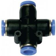 Priključek X »modra serija«, za zunanjo cev Φ 12 mm [139.012]