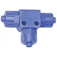Priključek T, tog, za cev 6/4 mm, POM [14.911]