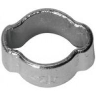 Objemka cevna pocinkano jeklo, območje vpenjanja 15-18 mm [157 F-E]