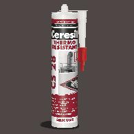 HENKEL SILIKON CERESIT CS 28, 260°C, 300ml - 1160968 - Temperaturno odporni silikon, rdeči