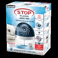 HENKEL CERESIT Stop vlaga AERO 360° aparat, 450g - 1675920 - Odstranjevalec vlage s tableto AERO 360°