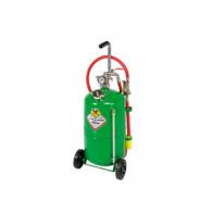 Črpalka pnevmatska za olje [33024] - Za olje z dozirno pištolo in prikazovalnikom nivoja. 24L