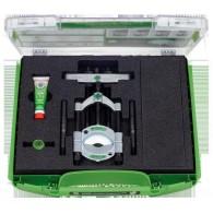 Separator s hitro vpenjalnim tlačnim vretenom v setu Š=50-100mm [17-K]