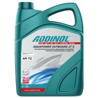 ADDINOL AQUAPOWER OUTBOARD 2T S, 5L - Olje 2T za izvenkrmne motorje, sintetično, biorazgradljivo