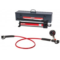 Hidravlična črpalka, ročni set BETEX AHP 702 vključno z jeklenim kovčkom za shranjevanje [7265701]