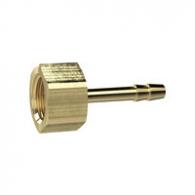Šoba vijačna za cev, G3/8'' notranji, za cev 10mm, AF 19, medenina, max. 25bar, max. 150°C [MS239A3810]