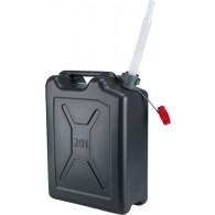 Kovinska posoda za gorivo - 20 l, PE - s prilagodljivim izlivom [21 127]