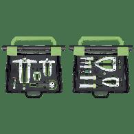 Snemalci dvokraki, set 60-160 in orodje za demontažo ležajev 12-70 [24-B]