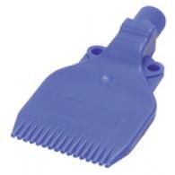Šoba z nizkim hrupom, G 1/4 AG, POM plastika, širina šobe 47,0 mm [31.101]