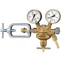 Regulator tlaka v plastenki, 200 barov, acetilen, delovni tlak 0 - 1,5 bara [487.37]